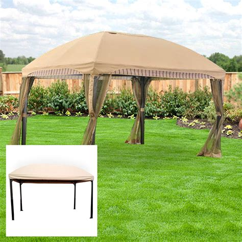 gazebo canopy replacement menards domed gazebo replacement canopy and netting