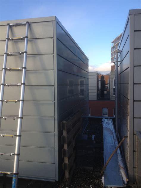 nieuwe trap haarlem dakopbouw in zink op plat dak in haarlem concept dakopbouw