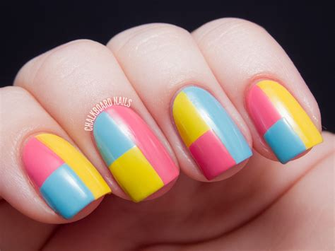 color manicure sally hansen color block manicure tutorial