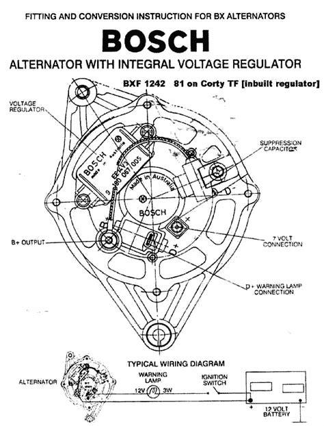 ford 3 wire alternator wiring diagram wiring diagram schemes