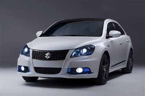 The New Suzuki New Suzuki Kizashi Ecocharge Concept Previews Hybrid Version