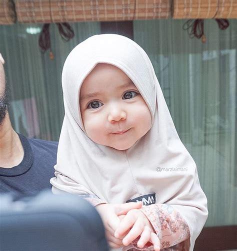 Jilbab Bayi Baru Lahir 13 foto bayi pakai jilbab ini imutnya nggak nahan jadi