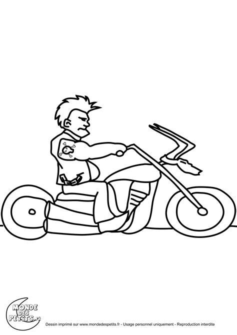 Nos jeux de coloriage Moto à imprimer gratuit
