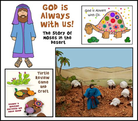 themes of the story god lives in the panch moses hides from pharoh bible crafts and activities