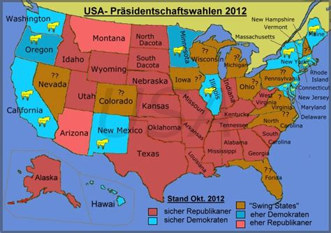 Usa Nach Den Wahlen Ergebnisse - us pr 228 sidentenwahl 2012 ergebnisse analysen wahlkf