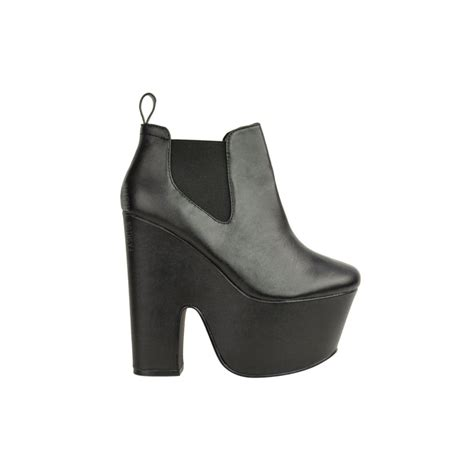 high heel chelsea boot high heel platform chelsea boot
