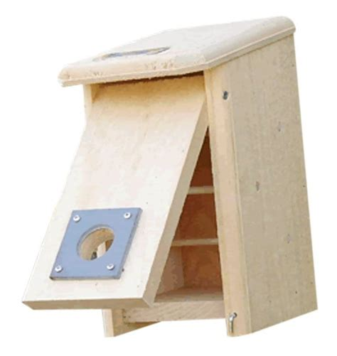 roosting boxes are a cozy place for birds to spend the night
