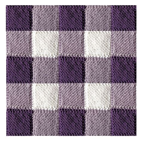 pattern knitted quilt ravelry blanket square diagonal garter stitch pattern by