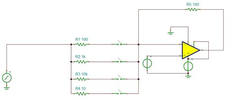 resistor based question op analog switch breakdown voltage electrical engineering stack exchange