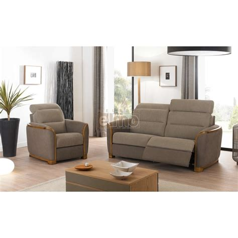 canapes relaxation ensemble salon canap 233 fauteuil relaxation tissu boiseries