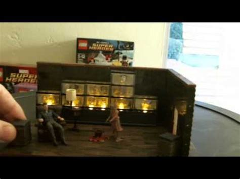walking the room mcfarlane walking dead building set governors room review