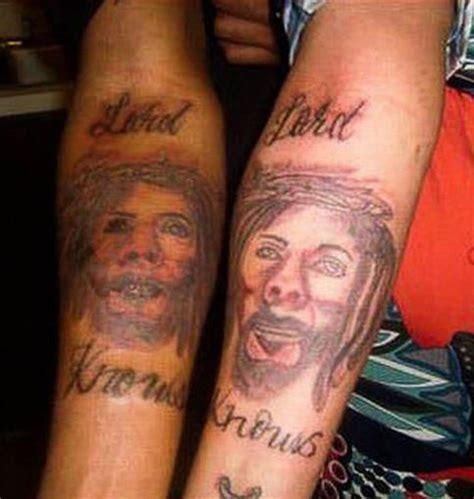 jesus tattoo gone wrong 21 awful jesus tattoos page 4 sick chirpse