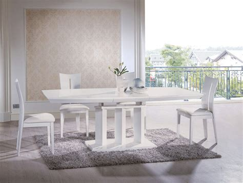 White Modern Dining Room Sets White Contemporary Dining Room Sets Interiordecodir