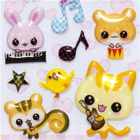 imagenes kawaii animals kawaii animals musical instruments sponge stickers