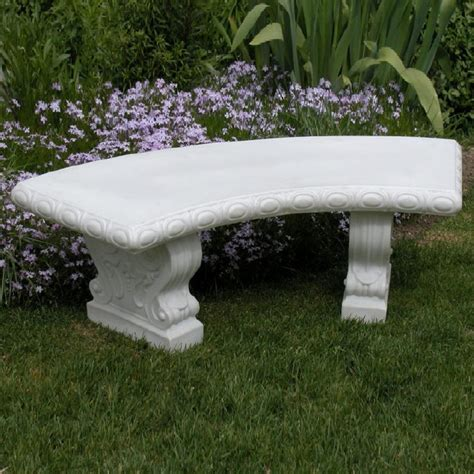 white patio bench bench garden resin white rentals salt lake city ut where
