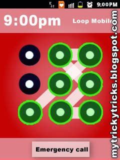 Tricky Pattern Screen Lock   trickytricks difficult lock patterns of mobiles phones