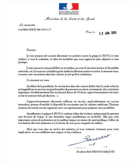 modele lettre a un ministre gratuit document