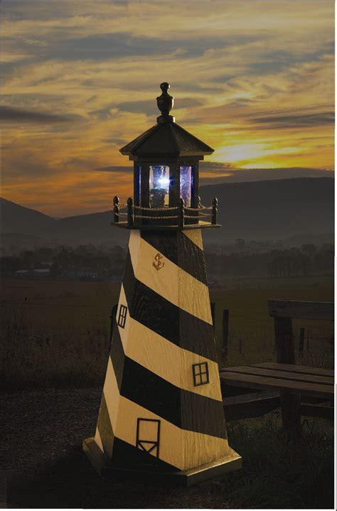 lighthouse solar light rotating beacon solar light garden lighthouse amish