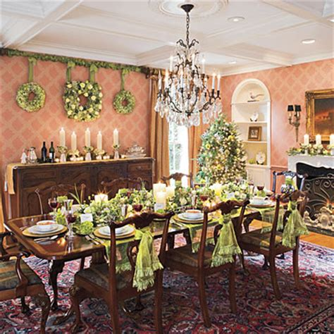 dining room table decorating christmas decoration ideas for dining room table