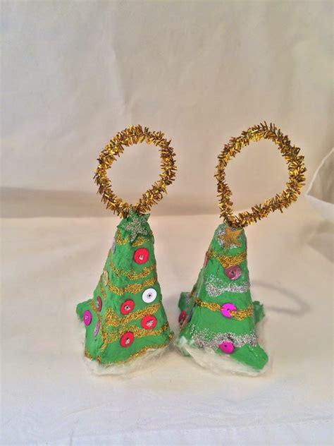 preschool crafts for kids egg carton christmas tree