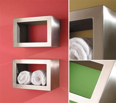recessed towel warmer box for the bathroom towel