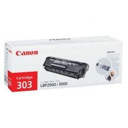 Toner Canon Lbp 2900 canon cartridge 303 black toner cartridge is used for