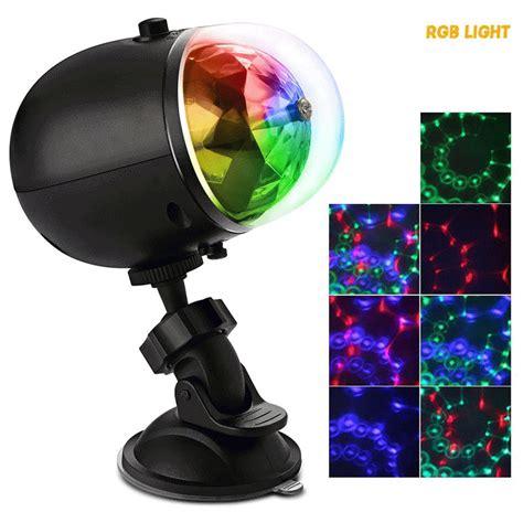 portable laser stage lights rgb three dimensional circular