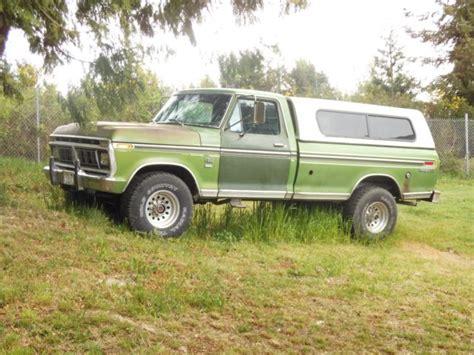 78 ford ranger for sale 78 highboy ranger xlt cer special 3 4 ton 4x4