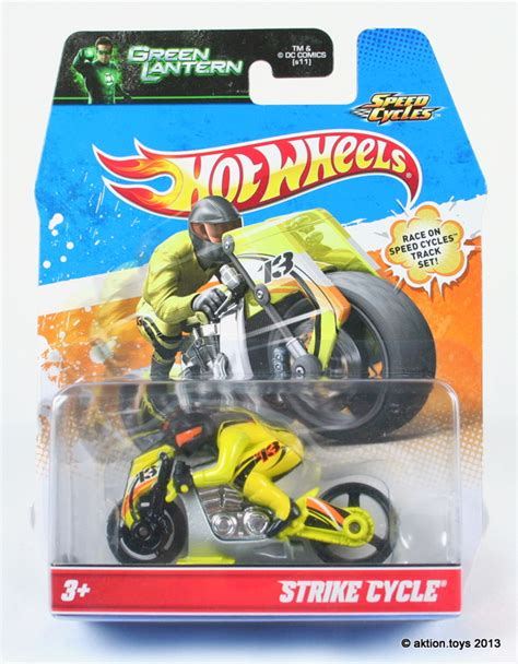 Hot Wheels Speed Cycles Motorbike Motor Batman Green