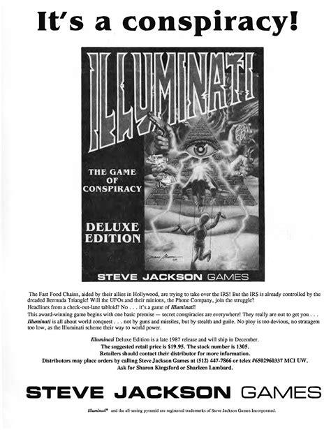 illuminati deluxe edition 1987 illuminati deluxe edition