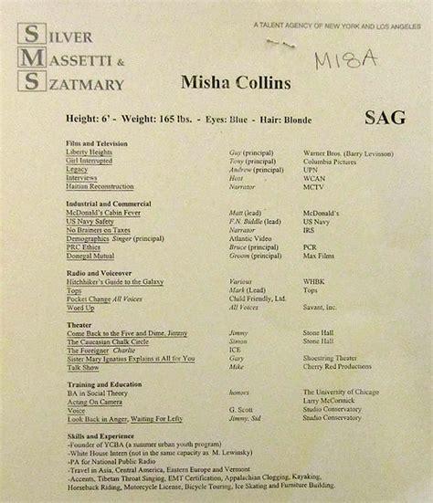 i don t even misha s resume