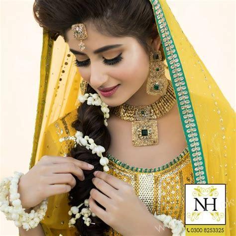 sajal ali wedding pics sajal ali photoshoot in bridal sajal ali bridal photoshoot for nadia hussain salon