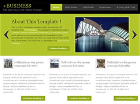 templates for website free download in css free jquery website templates 830 free css