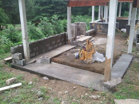 how to build a backyard fireplace excellent building an outdoor stone fireplace qxtech ui power tools with regard to how