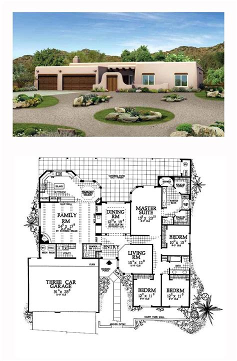 Santa Fe Style House Plans by Luxury Santa Fe House Plans House Design Plans