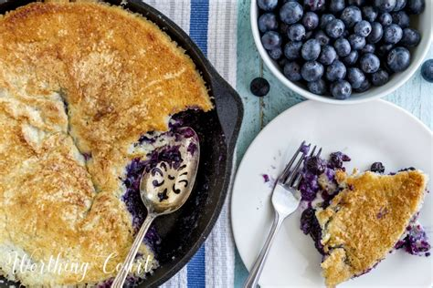 easy and delicious fresh blueberry cobbler recipe worthing court