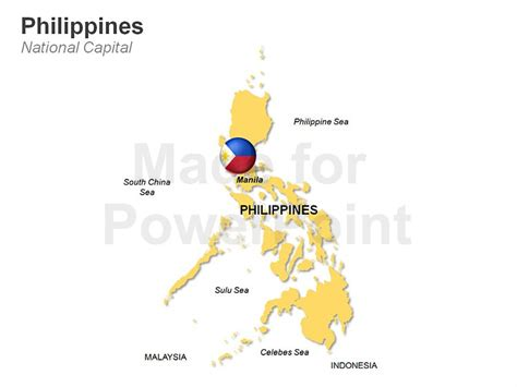 powerpoint themes philippines philippines map editable ppt slides