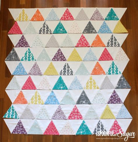 60 degree triangle pattern needed quilt mormor triangle quilt a spoonful of sugar