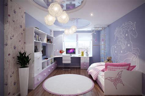 purple bedrooms for teenagers casting color over kids rooms