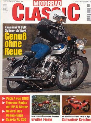 Classic Motorräder Gebraucht by Motorradzeitungen Testberichte Gebrauchte