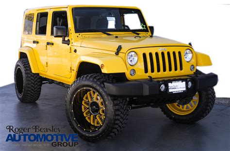 yellow jeep 4 door yellow jeep wrangler for sale used cars on buysellsearch