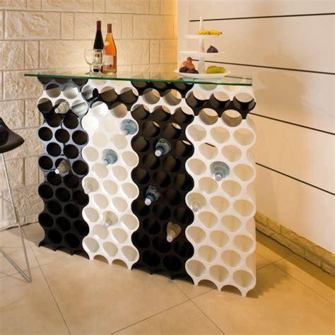 Bien Range Bouteille Pour Cuisine #6: Casier-a-bouteilles-set-up-noir-koziol.jpg