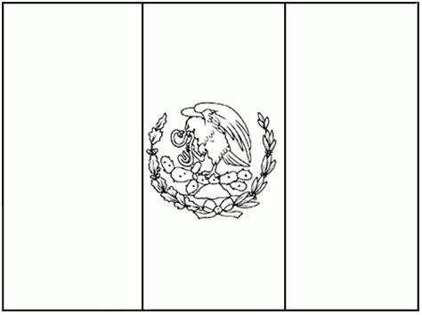 escudo bandera de mexico para colorear nocturnar bandera de m 233 xico para colorear