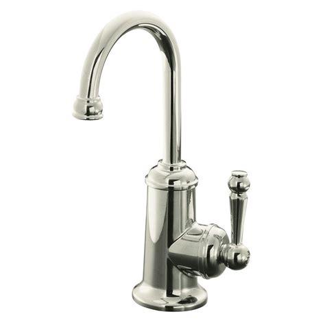 restaurant faucets kitchen kohler wellspring single handle bar faucet traditional design in polished nickel k 6666 sn the