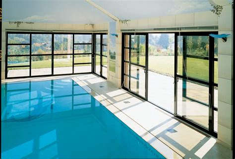 Cabana Pool House Sliding Patio Doors The Perfect Solution For Any Pool