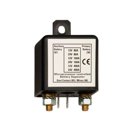 boat battery relay connection relay for secondary battery on cers and