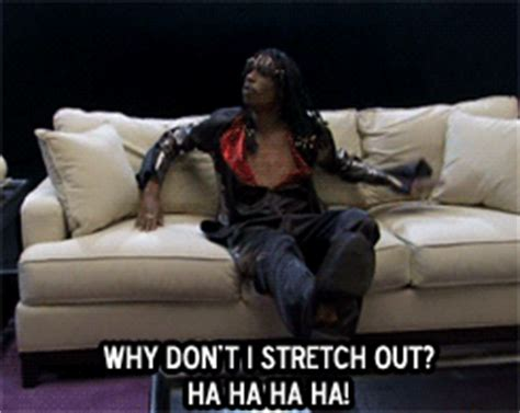 fuck your couch rick james my gifs gifset dave chappelle rick james chappelle show i