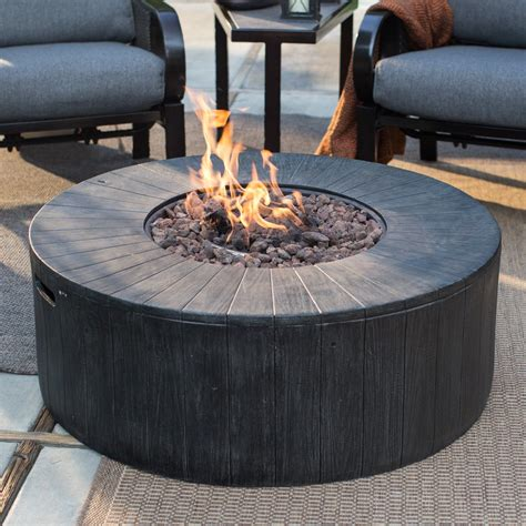 Firepit Gas To It Ember Whitehall 40 In Gas Pit 568 98 Hayneedle Patio