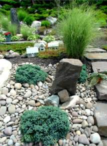 Garden Rock Ideas River Rock Landscaping Ideas Home Decorating And Tips
