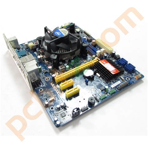Processor G840 Lga 1155 28 Ghz New Tray foxconn h61mxv v2 0 lga1155 motherboard pentium g840 2 8ghz 2gb ddr3 bundle ebay